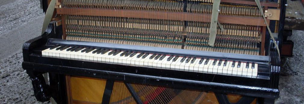 Вывоз и утилизация пианино