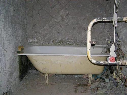 Вывоз ванны